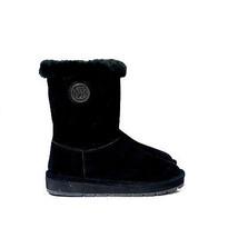 MICHAEL KORS WINTER MID BOOTS BLACK 5M - $91.76