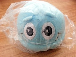 """Scrubbing Bubbles """"We Work Hard So You Don't Have Too"""" Plush Light Blue ... - $19.79"""