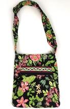 "VERA BRADLEY Retired Botanica Pattern Crossbody Handbag  9.5x11"""" Green ... - $26.64"