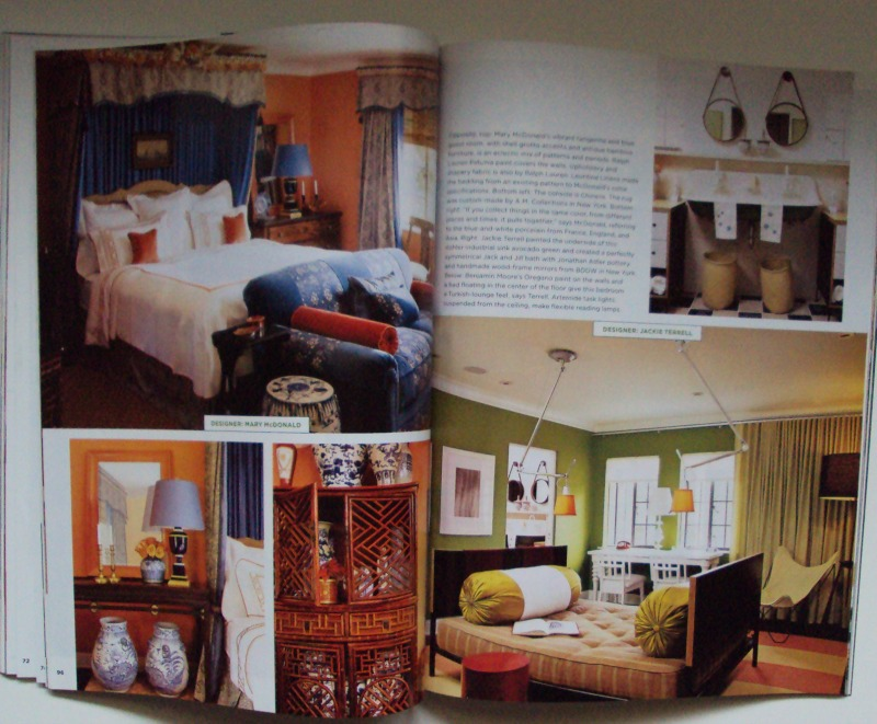 House Beautiful Back Issues Magazine November 2005 Get Inspired Hot Colors For F