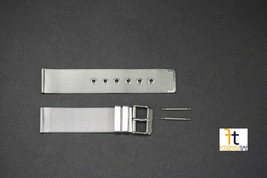 18mm fits Skagen Stainless Steel Mesh Watch Band Strap  w/SPRING BARS IN... - $16.96