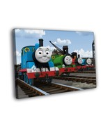 Thomas the Tank Engine & Friends Cartoon Kids 16x12 Framed Canvas Print - $25.46