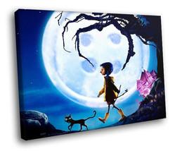 Coraline Fantasy Cartoon Movie 30x20 Framed Can... - $19.95