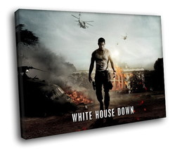 White House Down Movie Channing Tatum 30x20 Framed Canvas Art Print - $19.95