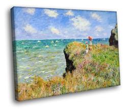 Claude Monet Clifftop Walk at Pourville Art 30x... - $19.95