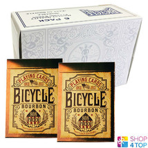 6 DECKS BICYCLE BOURBON 808 PROOF PLAYING CARDS KENTUCKY WHISKEY MADE IN... - $42.31