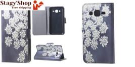 Housse Samsung J3 Cuir Coque Galaxy Case étui de Portefeuille Protection... - $12.88