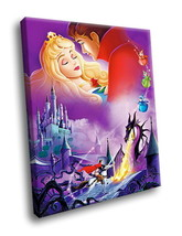 Sleeping Beauty Animated Movie 40x30 Framed Canvas Art Print - $29.95