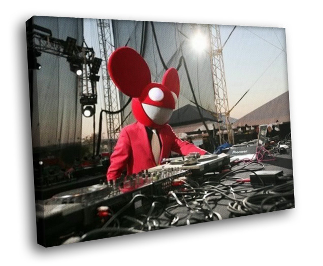 Deadmau5 dead mouse dj progressive house music 16x12 for Mouse house music