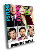 Horrible Bosses Comedy Movie 40x30 Framed Canvas Art Print - $29.95