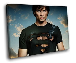 Tom Welling Smallville Clark Kent 40x30 Framed Canvas Art Print - $29.95