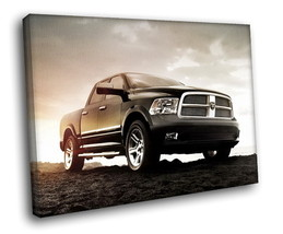 Dodge Ram Pickup Truck 30x20 Framed Canvas Art Print - $19.95