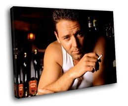 Russell Crowe Actor 40x30 Framed Canvas Art Print - $29.95