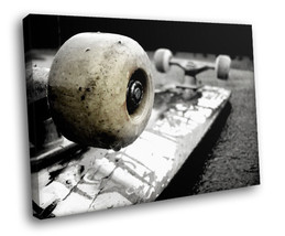 Old Skateboard 30x20 Framed Canvas Art Print - $19.95