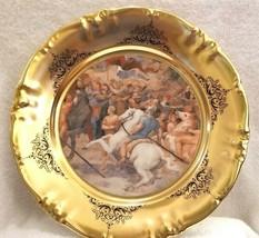 Vtg Schwarzenbach Winterling Bavaria Porcelain Charger Plate Raffaello Painting - $65.00