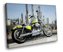 Harley Davidson Hot bike Factory 30x20 Framed Canvas Art Print - $19.95