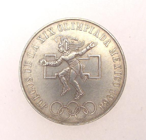 1968 OLYMPIC  COIN - MEXICO