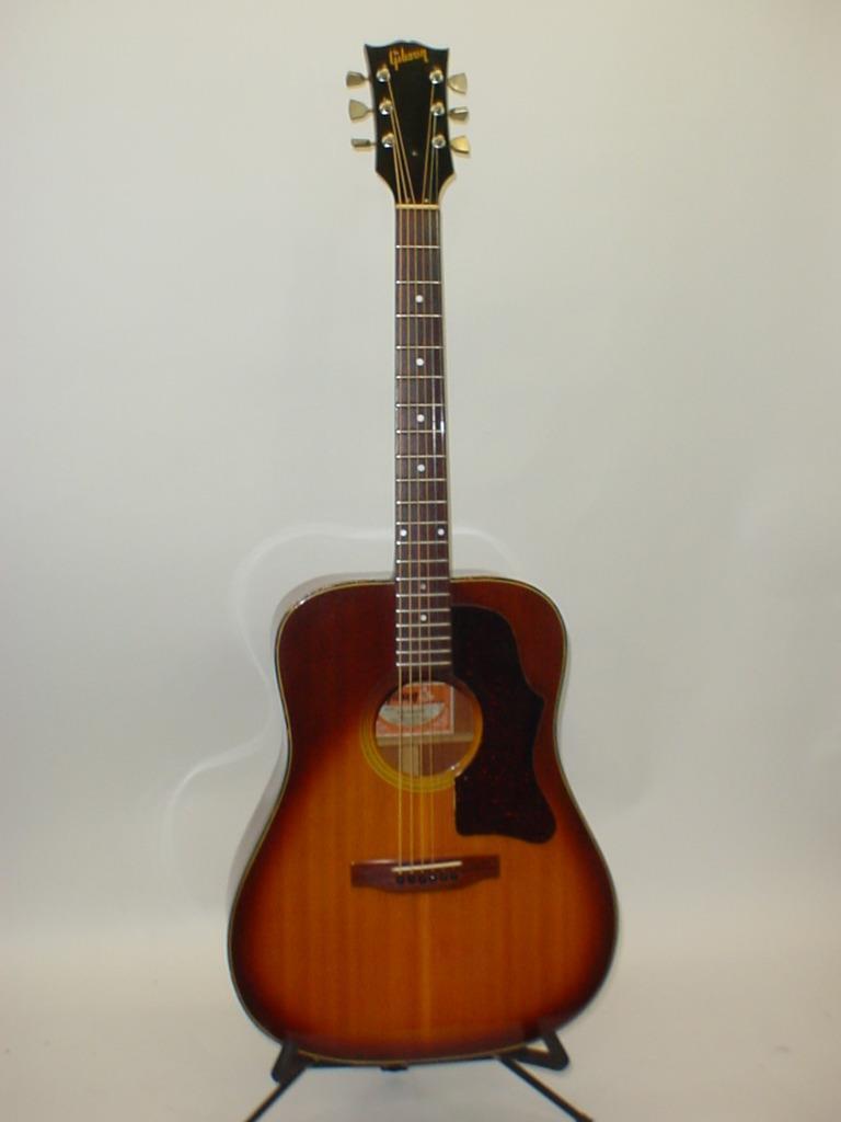 Gibson J-45 J45 Deluxe Acoustic Guitar Vintage 1975 w/ Case