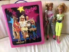 1986 Rocker Ken, 1993 Mattel Barbie Doll Case, 1985 Barbie Rockers #1140 - $49.49