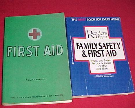 First aid 2 books