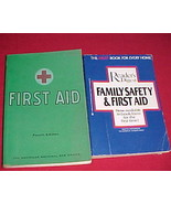 Readers Digest Family Safety & 1st Aid+American Red Cross First Aid,1972... - $14.99