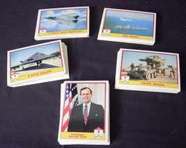 Operation Desert Shield Trading Cards 110 Card Collector Set in Original... - $7.00