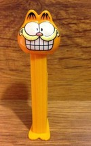 Vintage Garfield Pez Dispenser with Feet Made in Slovenia - 1990's - $8.00