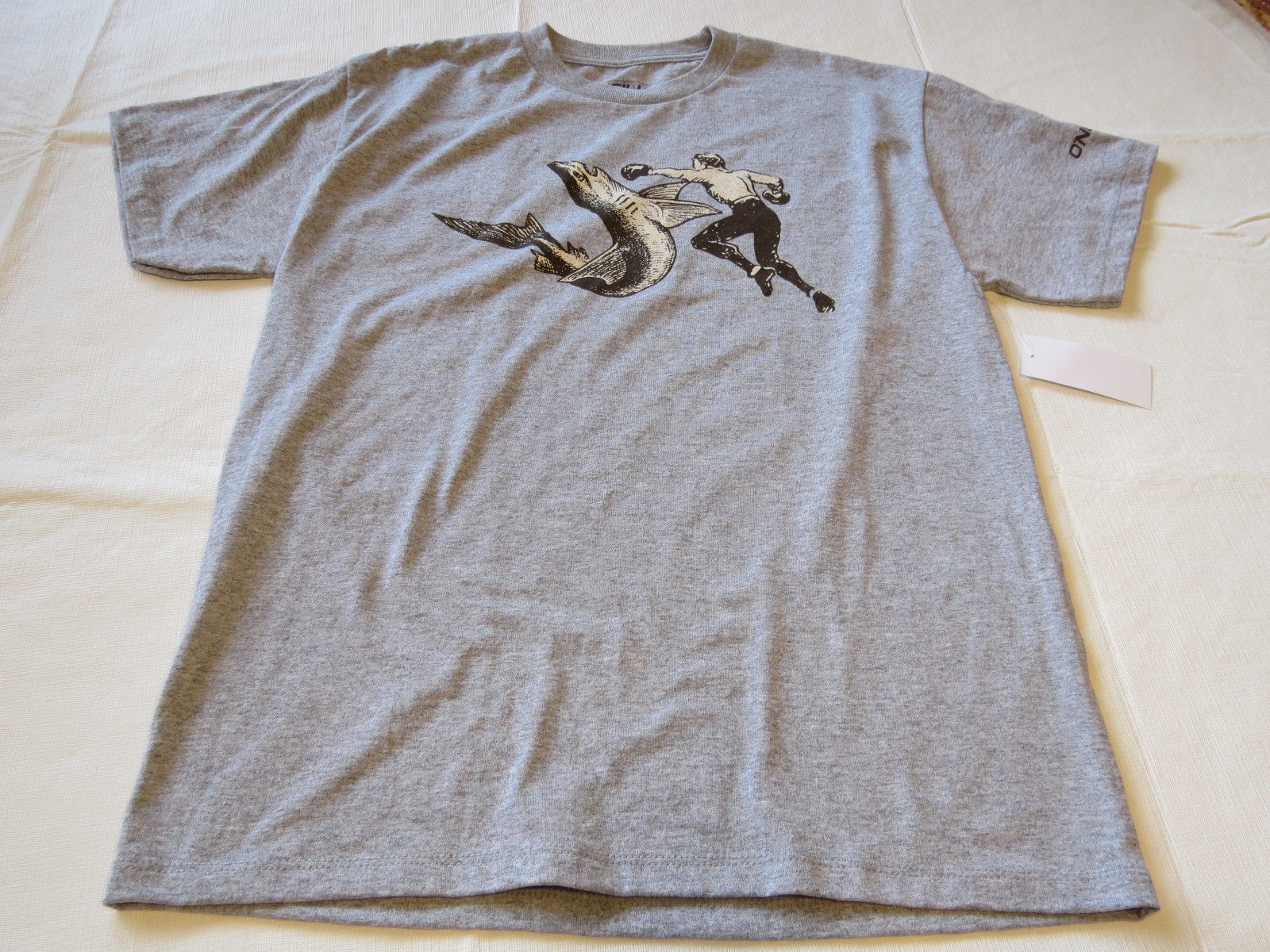 Boys youth O'Neill surf skate M Attack T shirt Youth TEE MHT grey hthr SU6218404