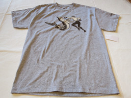 Boys youth O'Neill surf skate M Attack T shirt Youth TEE MHT grey hthr S... - $19.29
