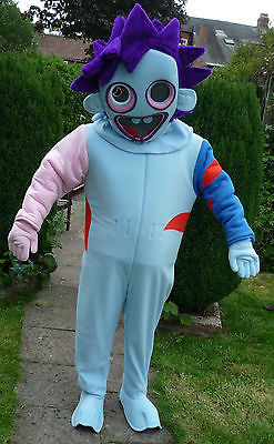 Hire a Moshi Monster  ZOMMER Mascot Costume