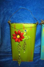 Pier 1   **TIN WALL BUCKET**   Home Decor~Tin Art   NWT - $378,44 MXN
