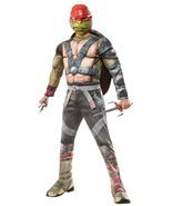 Rubie's Costume Kids Teenage Mutant Ninja Turtles 2 Deluxe Raphael Costu... - $44.56 CAD