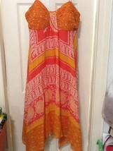 Silk dress - $50.00