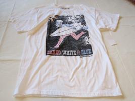 Boys youth O'Neill surf skate M Shred T shirt Youth TEE WHT white SU6218300 - $29.69