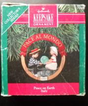 Hallmark Keepsake Christmas Ornament 1991 Italy First in Peace On Earth ... - $6.99