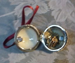 Monet Christmas Ball Ornament w/ Necklace - $9.95