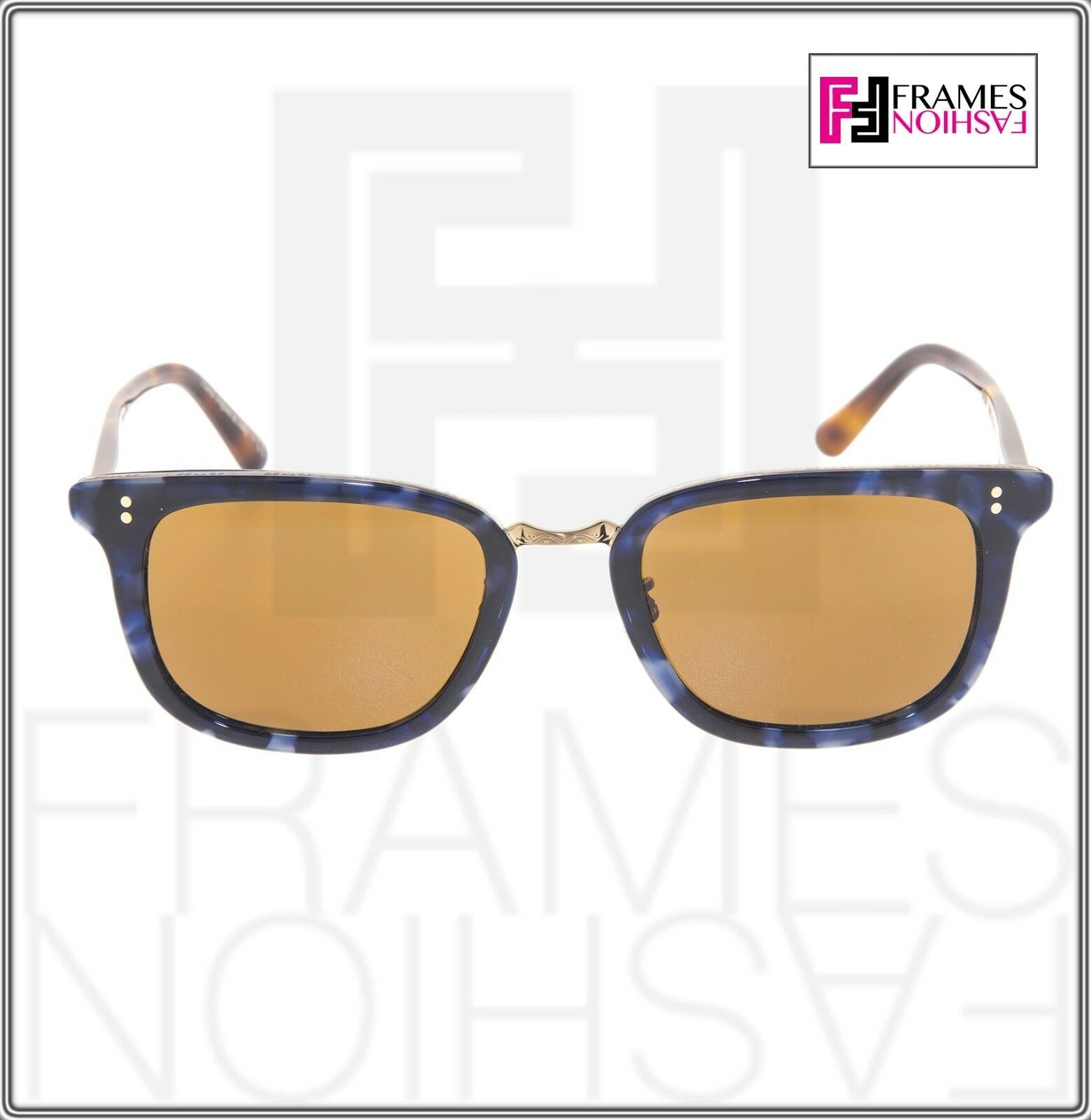 OLIVER PEOPLES KETTNER OV5339S Brown Blue Tortoise Cosmik Sunglasses 5339 image 6
