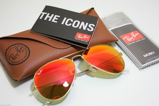 0a1668d9daf Rb3025 112 69 01. Rb3025 112 69 01. Ray Ban Aviator RB3025 112 69 58mm  Sunglasses Gold With Orange Mirror Lens