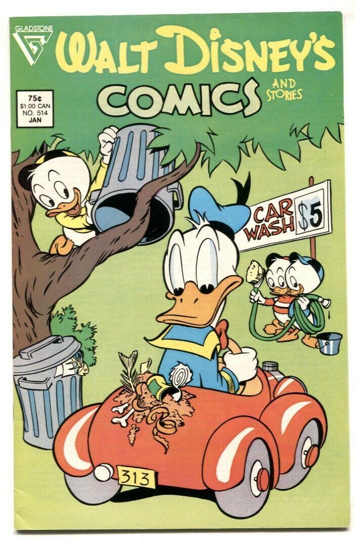Walt Disney's Comics and Stories #514 1987- Gladstone VF - $15.13