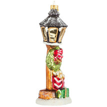 "Light Post Ornament approx. 6"" X 2"" - $6.00"