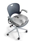 Tailbone Cushion Memory Foam Seat Pain Relief Washable Cover Nonslip Han... - $44.49