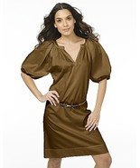 DIANE von FURSTENBERG KEONI BUTTER RUM DRESS - US 8 -UK 12 - $186.85