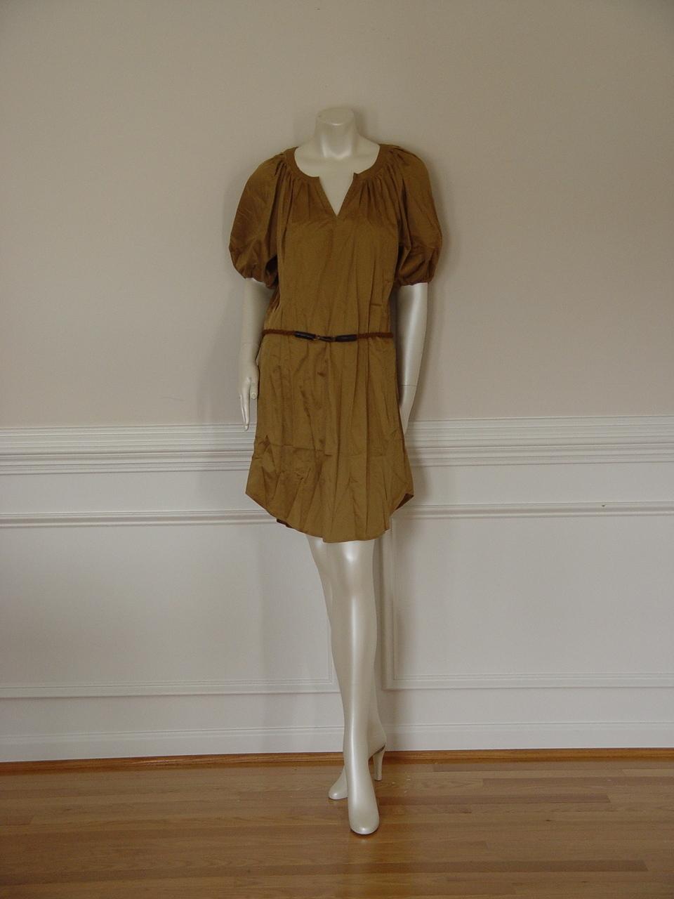 DIANE von FURSTENBERG KEONI BUTTER RUM DRESS - US 8 -UK 12