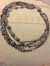 """Grandmas Estate White Black Market 16""""  Necklace (Mia) - $13.86"""