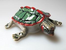 Porcelain Miniature Collectible Ceramic Turtle ... - $4.46