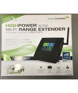 Amped TAP-EX2 Wireless High Power Touch Screen AC750 Dual Band Wi-Fi Range - $49.45