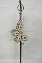 Coach F58996 /F58997 Studded Leather Butterfly Keyring/Key-Clip/ Bag Charm Brown image 5