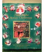 Vintage Christmas The Night Before Christmas Talking/Musical 15 Light Set - $39.59