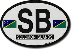 Solomon islands oval decal 4119 thumb200