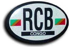 Congo rep of oval decal 3843